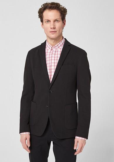 Slim: veston individuel d'aspect texturé de s.Oliver