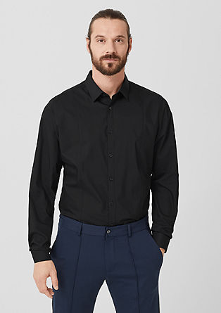 Slim : chemise business à teneur en stretch de s.Oliver