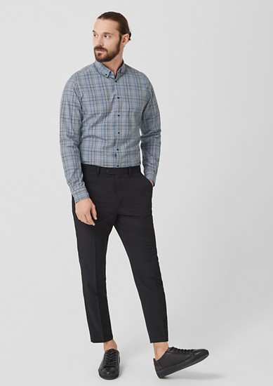 Slim: Button Down-Hemd