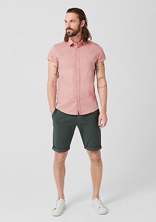 Slim: Stretchy short sleeve shirt  from s.Oliver