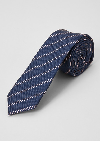 Silk blend tie from s.Oliver