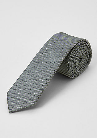 Gestreepte stropdas van een zijdemix