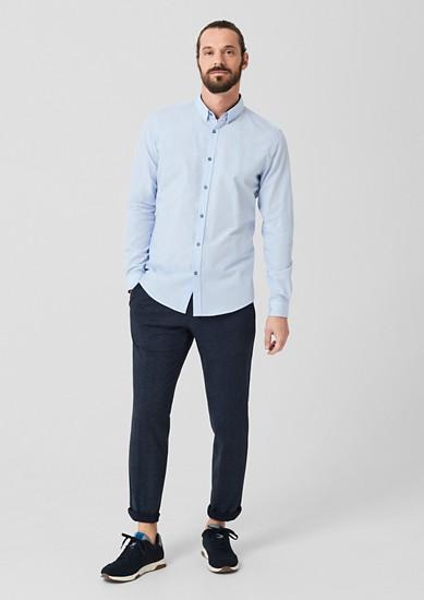 Slim: chemise business d'aspect chiné de s.Oliver
