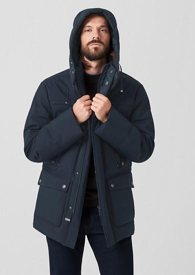 zimní bunda s teplým vatováním