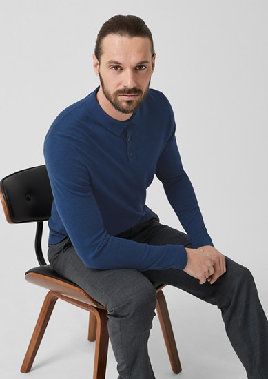 Fine knit jumper with wool from s.Oliver