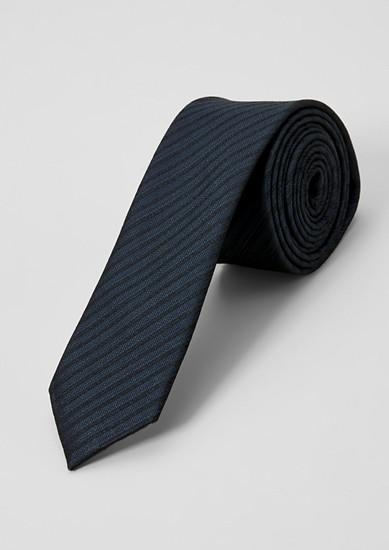 Kravata iz svilena mešanice s tkanim vzorcem
