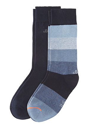 2er-Pack Herrensocken