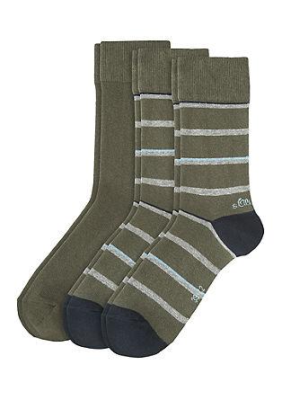 Set van 3 paar sokken met motief