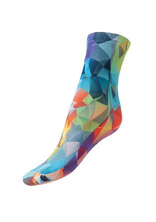 Bunt gemusterte Socken