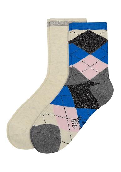 Lot de 2 paires de chaussettes de s.Oliver