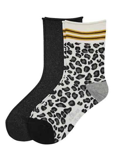 Lot de 2 paires de chaussettes tendance de s.Oliver