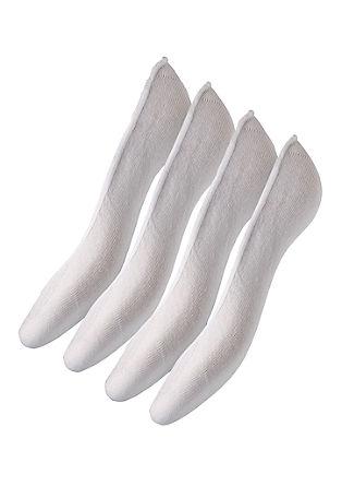Unisex Füßlinge im 4er-Pack