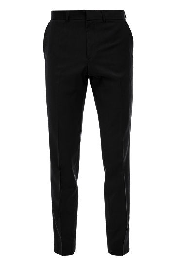 Slim: New wool trousers from s.Oliver