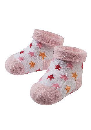 Babysocken mit Sternchen