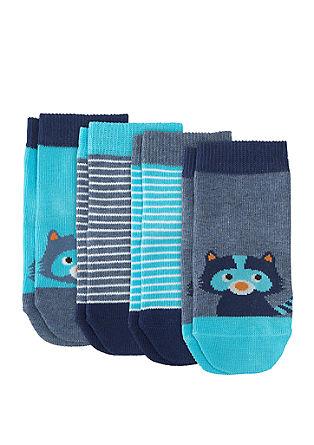 4er-Pack niedliche Socken