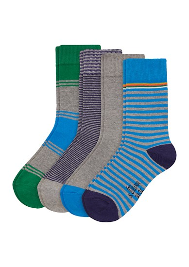 4er-Pack Junior-Socken