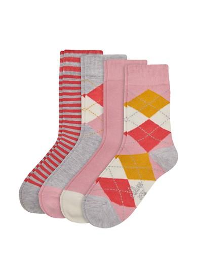 4er-Pack Junior-Socken