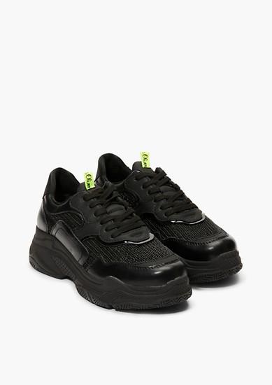 Chunky Sneaker in Metallic