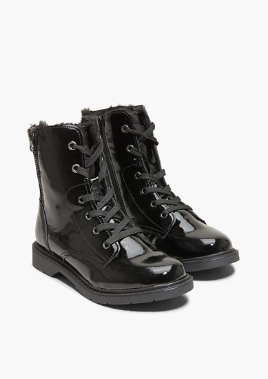 Boots à lacets fourrées de s.Oliver