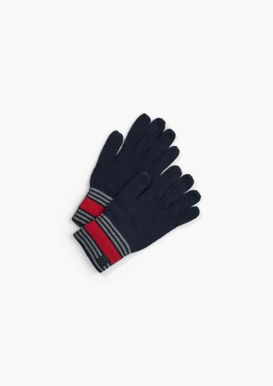 Handschuhe mit Strickmuster