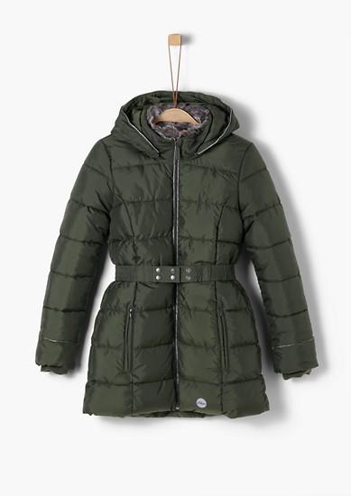 Wintermantel mit Fake Fur