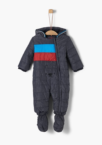 Winter jumpsuit with a fleece lining from s.Oliver