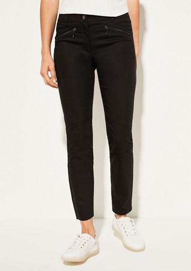 Skinny Fit: skinny leg trousers from comma