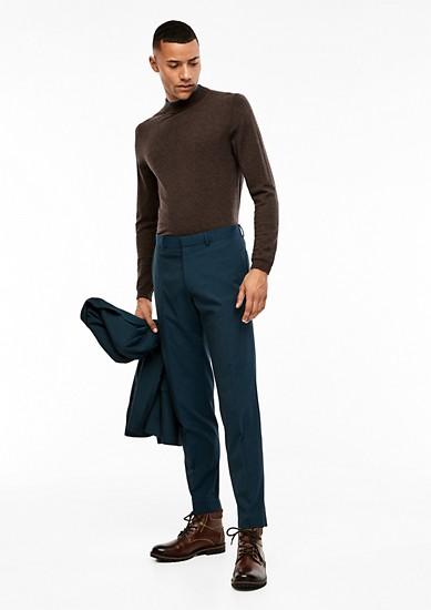 Slim: melirane hlače za k obleki