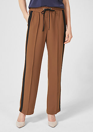 Charlotte Wide: elegant trousers from s.Oliver