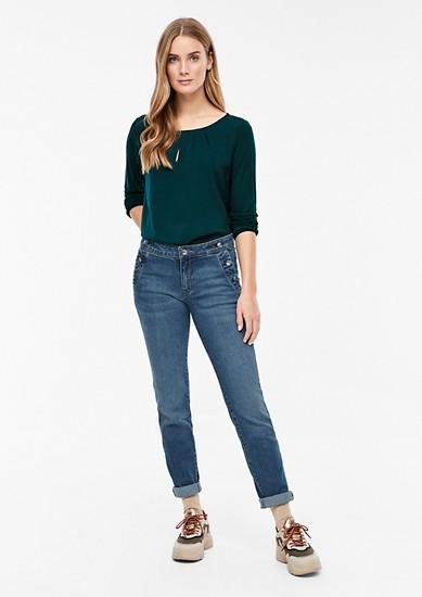 Shape Slim: jean à boutons brillants de s.Oliver