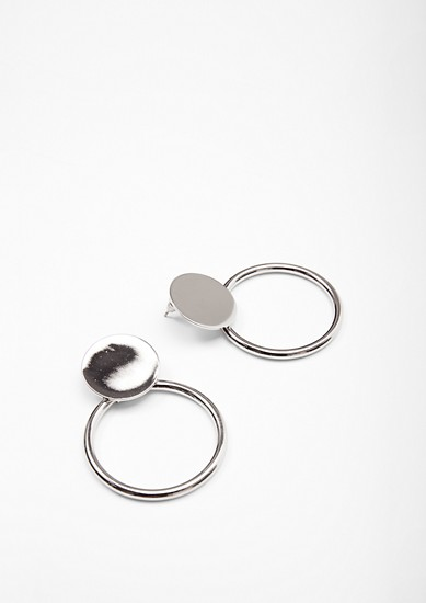Earrings in a circular design from s.Oliver