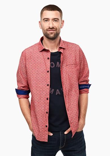 Slim: košile snatištěným vzorem