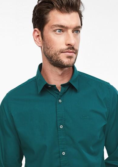 Slim: košile z popelínu