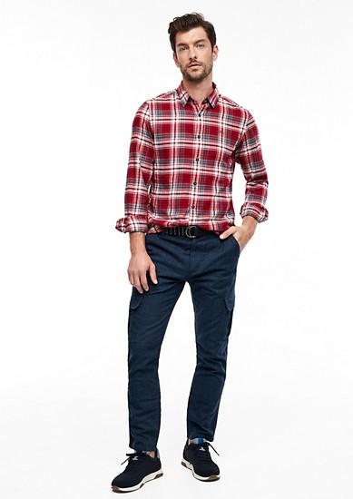 Tubx Regular: pantalon en toile muni d'une ceinture de s.Oliver