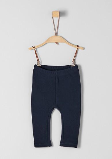 Kalhoty z teplákoviny z termoflísu