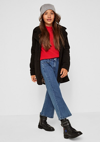 Denim culottes from s.Oliver