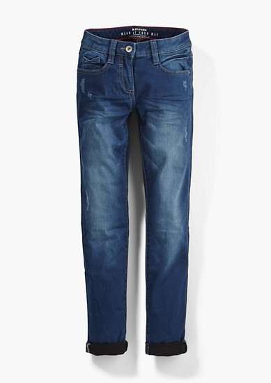 Skinny Suri: Winter jeans from s.Oliver