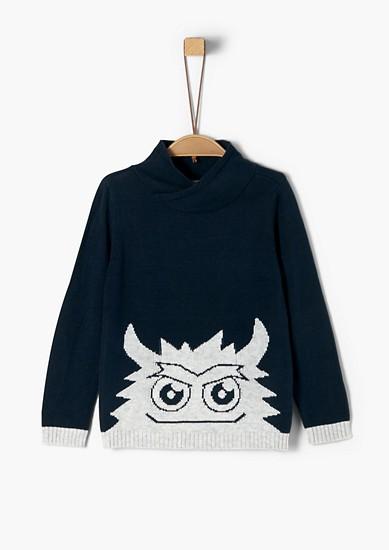 Pullover mit Monster-Motiv