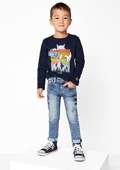 Skinny Brad: Raztegljive jeans hlače