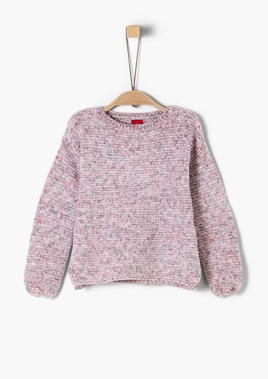 Pisano meliran pulover iz šenila