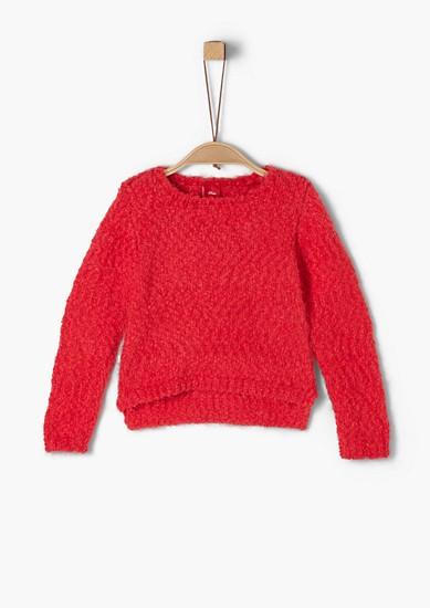 Weicher Pullover aus Fancygarn