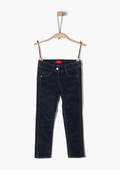 Kathy: strečové manšestrové kalhoty