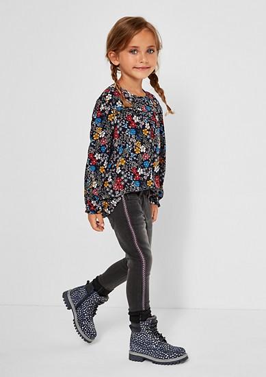 Skinny Kathy: strečové džíny spodšívkou