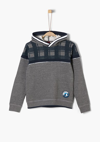 Sweatshirt with a print pattern from s.Oliver
