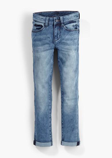 Skinny Seattle: jeans hlače s spranim učinkom