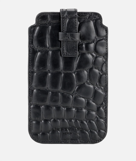 Smartphone case with crocodile embossing from liebeskind