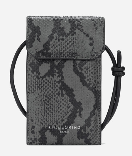Timeless smartphone neck pouch from liebeskind