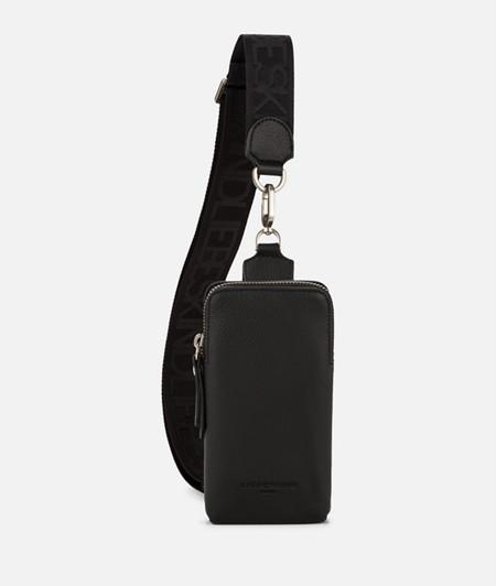 Modern mini cross-body bag from liebeskind