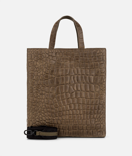 Bag with crocodile embossing from liebeskind