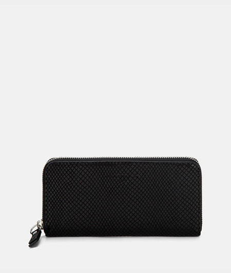 Faux snakeskin purse from liebeskind